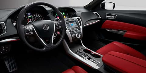 2020 Acura TLX A-Spec Interior Design