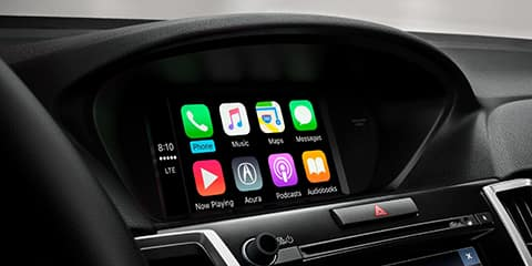 2020 Acura TLX Apple CarPlay and Android Auto