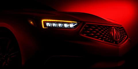 2020 Acura TLX Jewel Eye LED Headlights