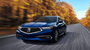 2020 Acura TLX SH-AWD Exterior Front Angle Driver Side