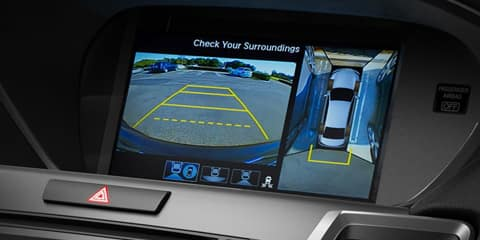2020 Acura TLX Surround-View Camera