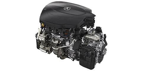 2020 Acura TLX V-6 P-AWS Powertrain