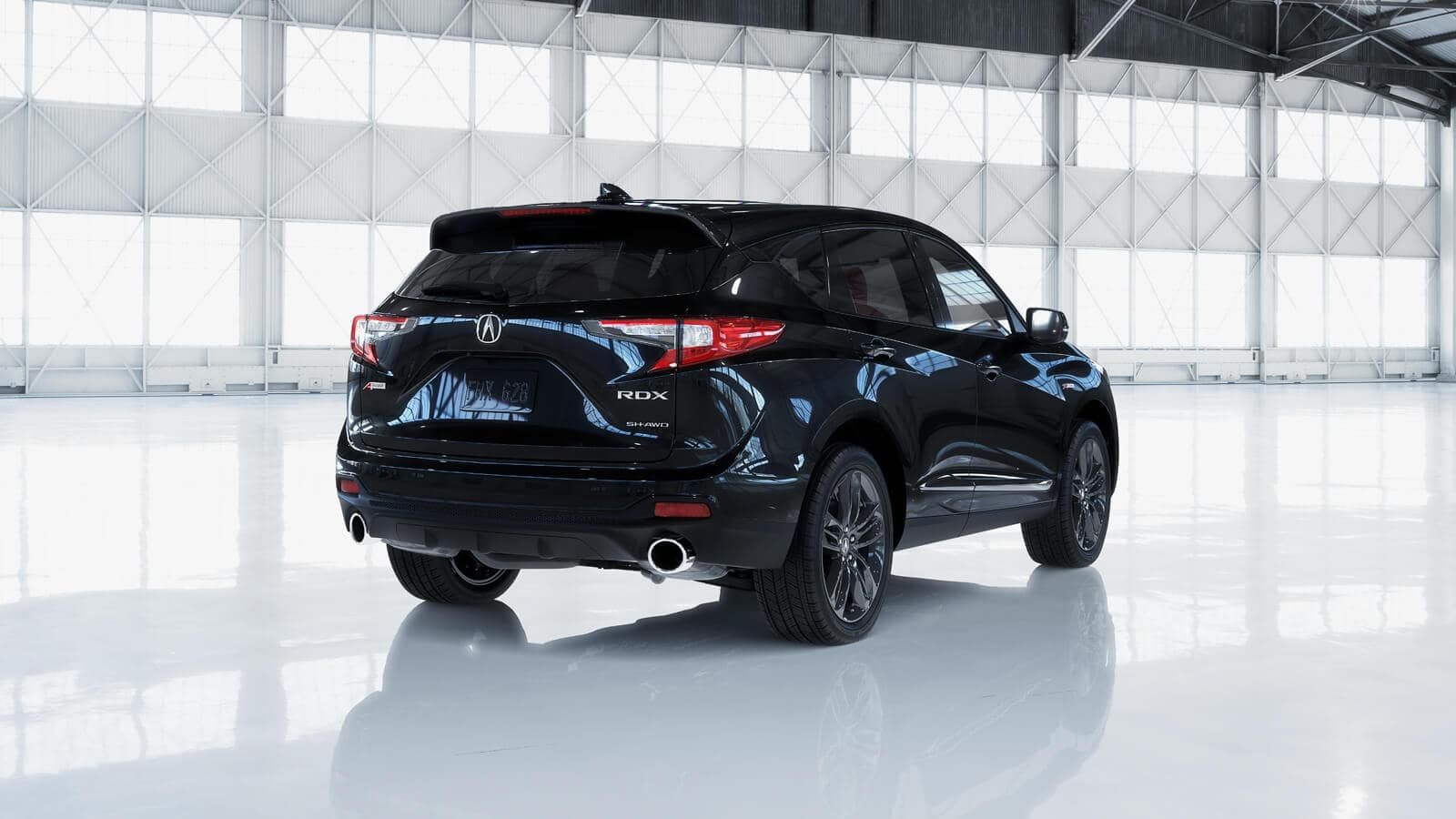 2020 Acura RDX A-Spec Exterior Rear Angle Passenger Side