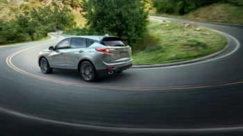 2020 Acura RDX SH-AWD Exterior Side Angle Curving Road