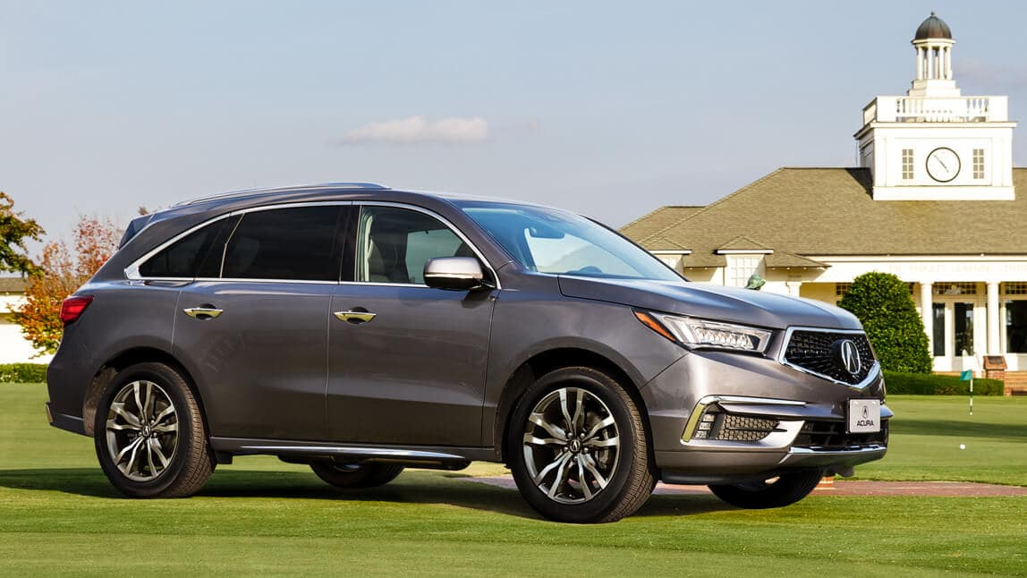 2020 Acura MDX Exterior Side Angle Passenger Side Country Club Location