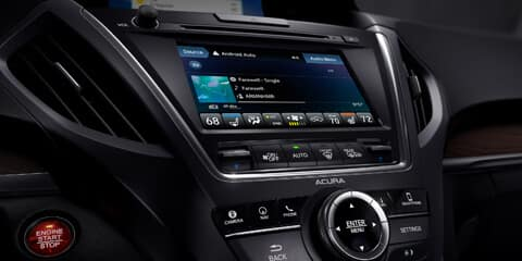 2020 Acura MDX On Demand Multi-Use Display