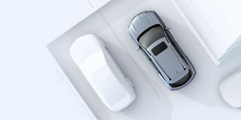 2020 Acura MDX Rear Cross Traffic Monitor