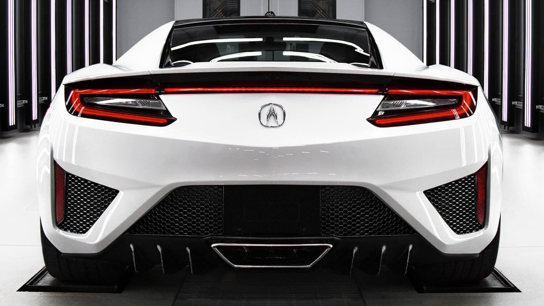 2020 Acura NSX Exterior Rear Angle