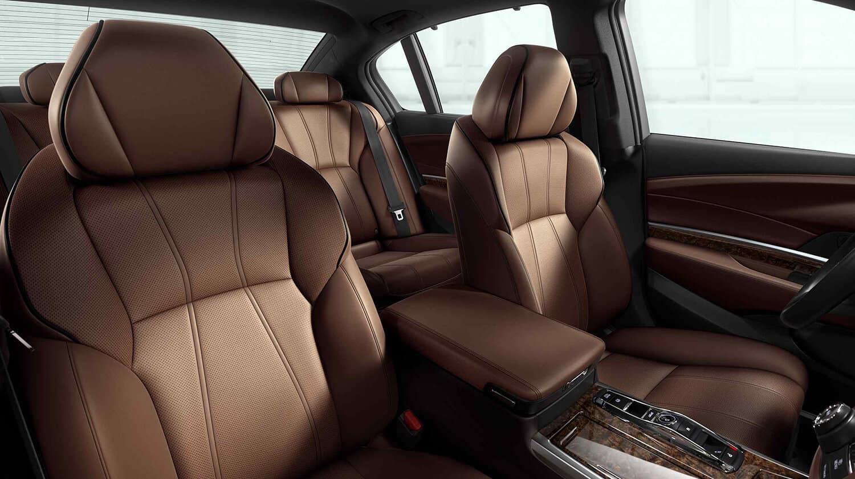 2020 Acura RLX Interior Espresso Seats