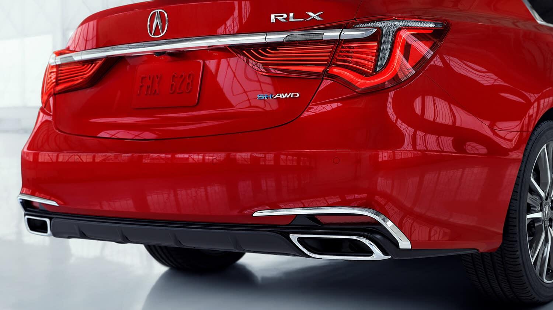2020 Acura RLX Exterior Rear Angle Taillight Closeup