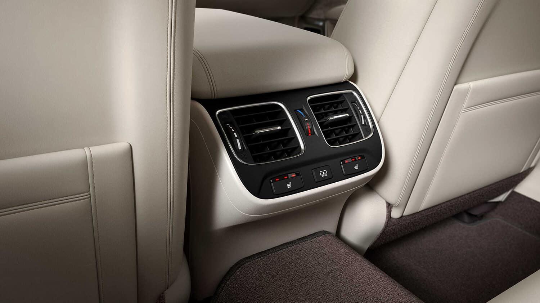 2020 Acura RLX Interior Tri-Zone Climate Control