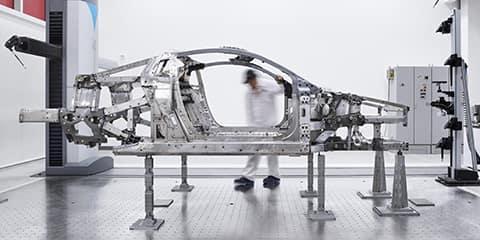 2020 Acura NSX Space Frame