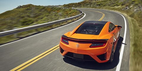 2020 Acura NSX Super Handling All-Wheel Drive