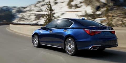 2020 Acura RLX Agile Handling Assist