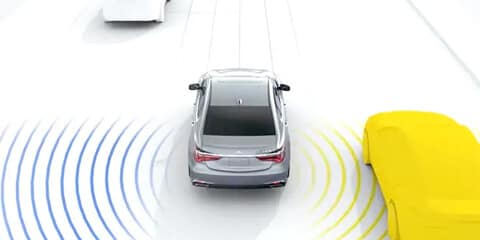 2020 Acura RLX Blind Spot Information System
