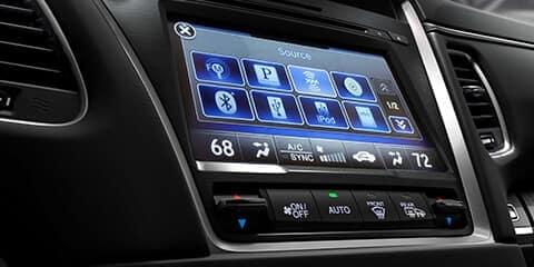 2020 Acura RLX On Demand Multi-Use Display