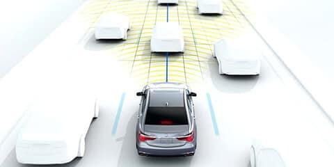 2020 Acura RLX Traffic Jam Assist