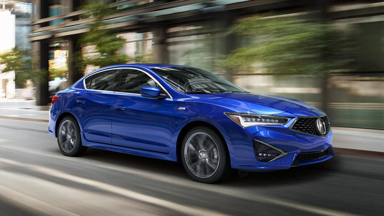 2020 Acura ILX Exterior Front Angle Passenger Side