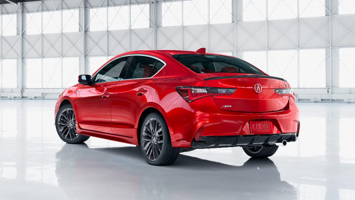 2020 Acura ILX Exterior Rear Angle Driver Side