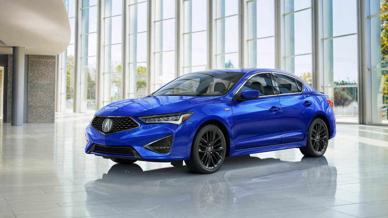 2020 Acura ILX A-Spec Exterior Front Angle Driver Side