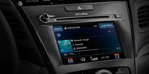 2020 Acura ILX On Demand Multi-Use Display