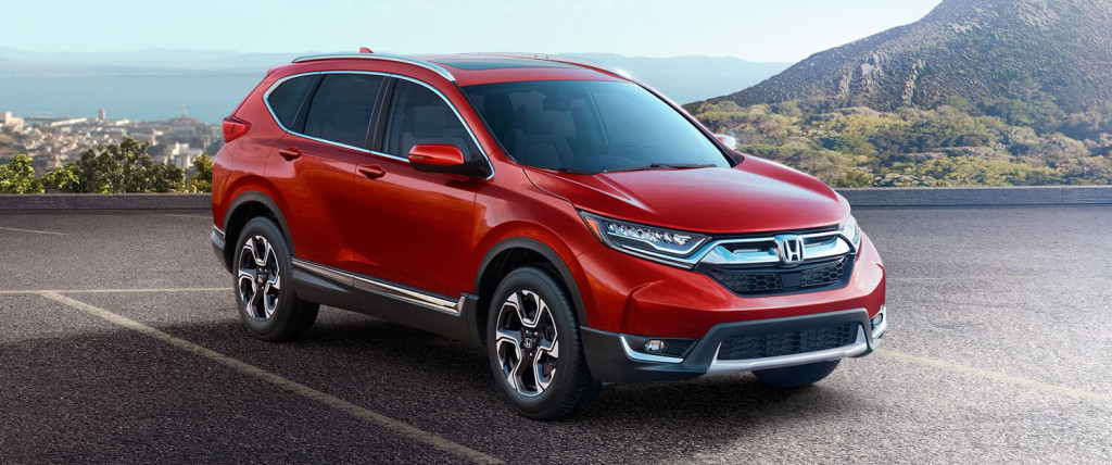 2017 Honda CR-V Exterior Front Red