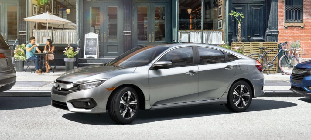 2018 Honda Civic Sedan Exterior Side Angle Park
