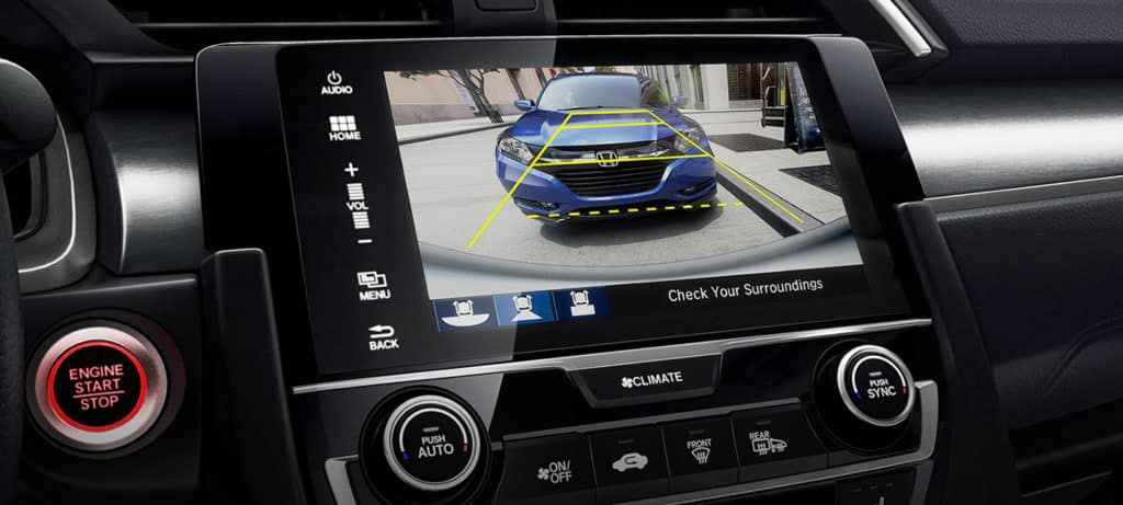 2018 Honda Civic Sedan Multi-Angle Rearview Camera