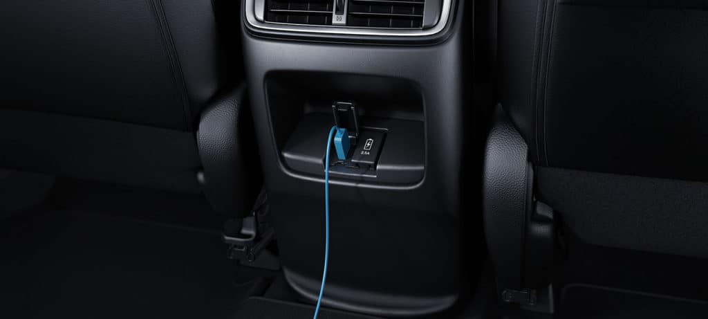 2018 Honda CR-V Interior Second Row USB Ports