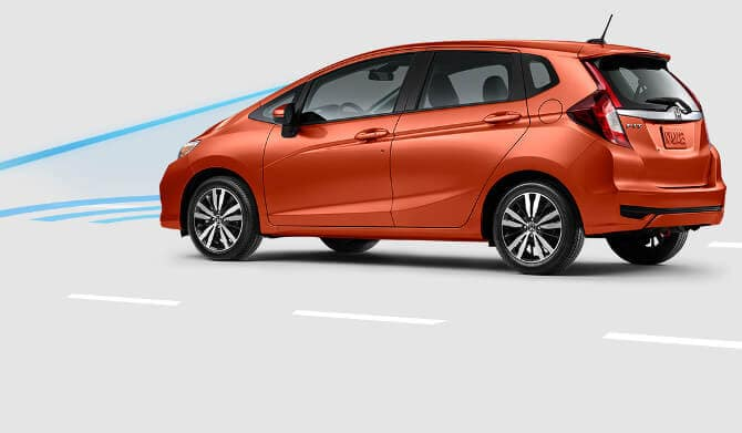 2018 Honda Fit Collision Mitigation Braking