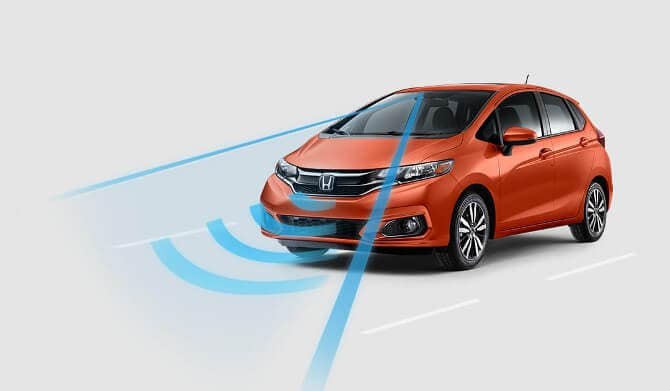 2018 Honda Fit Forward Collision