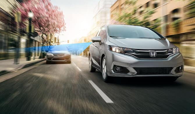 2018 Honda Fit Lane Keeping
