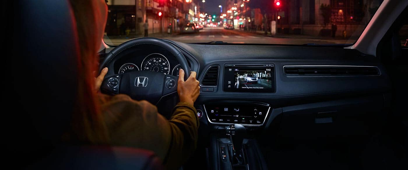 The Alluring Technology Features Of The 2018 Honda Hr V