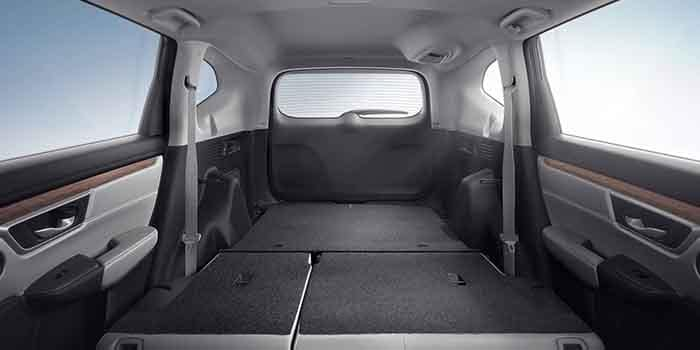 2018 Honda CR-V Open Area Cargo Space