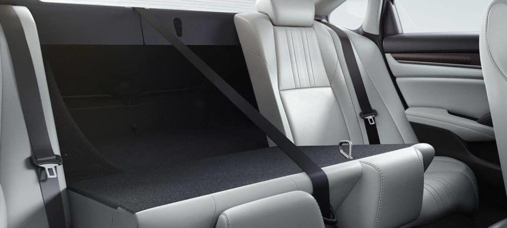 2019 Honda Accord Folding Back Seats