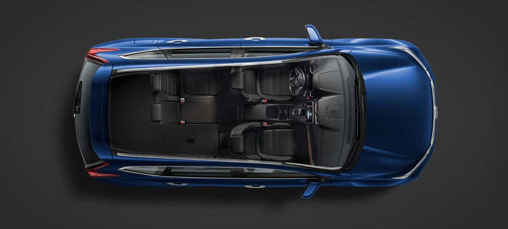 2019 Honda CR-V Top Down View