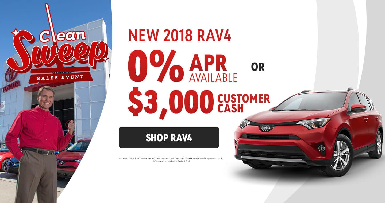 2018 RAV4 Sale