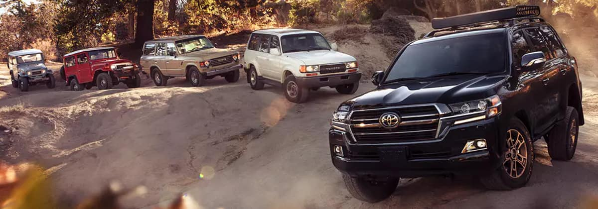 Test drive the 2020 Toyota Land Cruiser in Shreveport LA