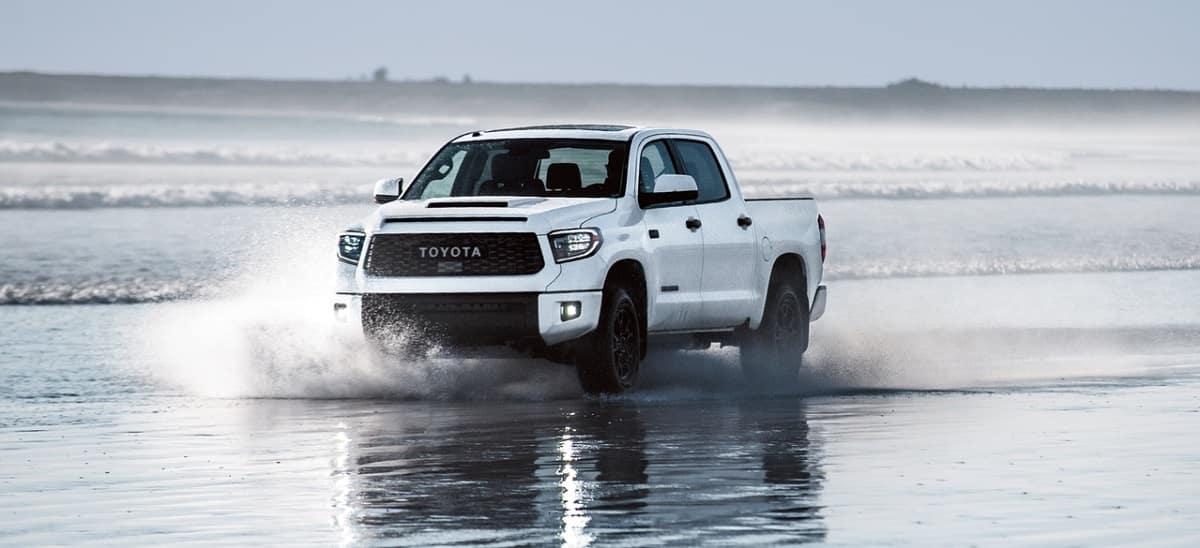 Test drive the 2020 Toyota Tundra in Shreveport LA