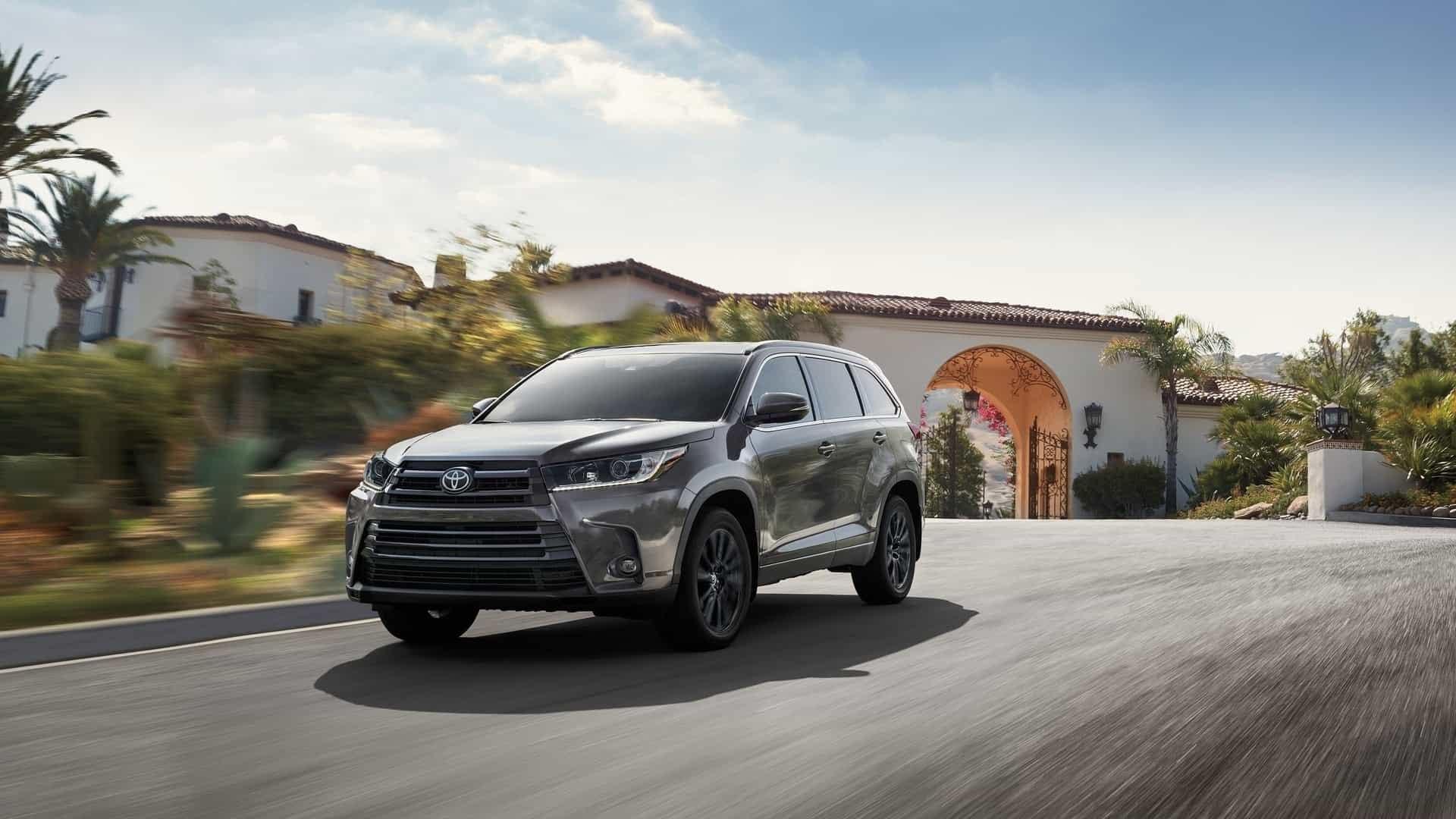 Lease a 2019 Toyota Highlander near Bossier City LA