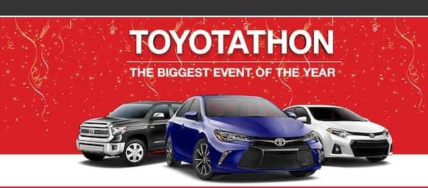 Toyotathon is On near Bossier City LA