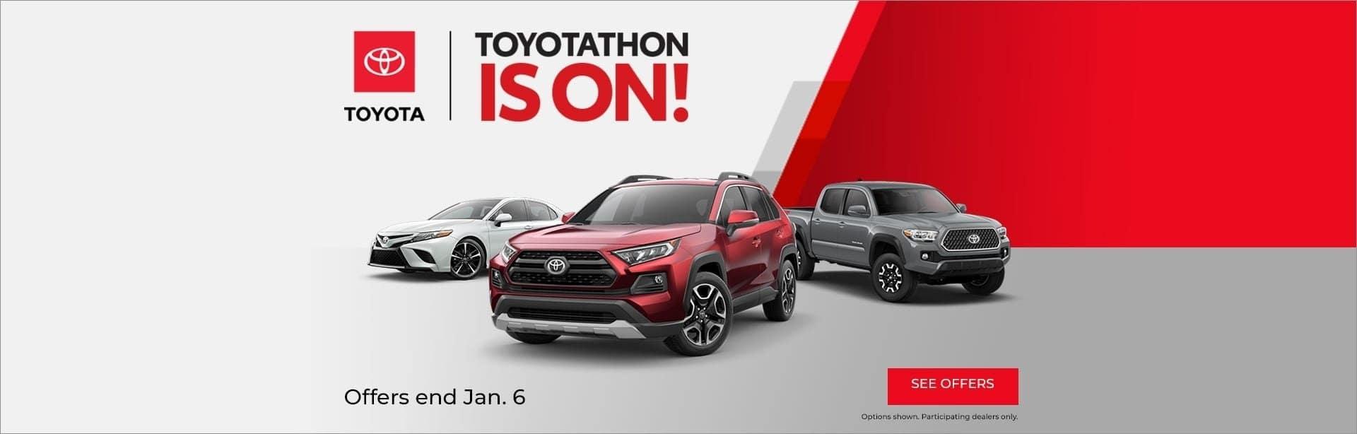 Toyotathon is On in Shreveport LA