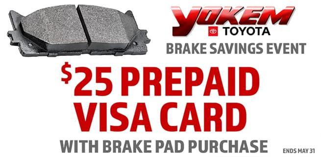 Brake Savings Event