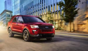 Ford Explorer vs Competition