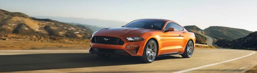 Lease a 2018 Ford Mustang