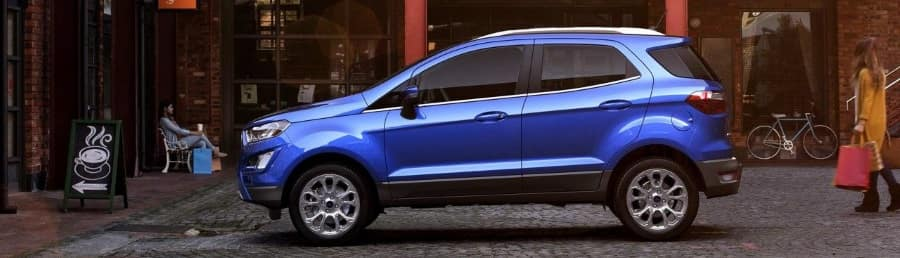 2018 Ford Ecosport vs Honda HRV comparison