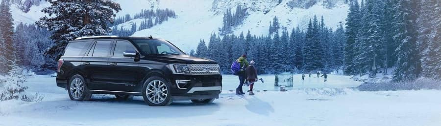 2019 Ford Expedition in Winter