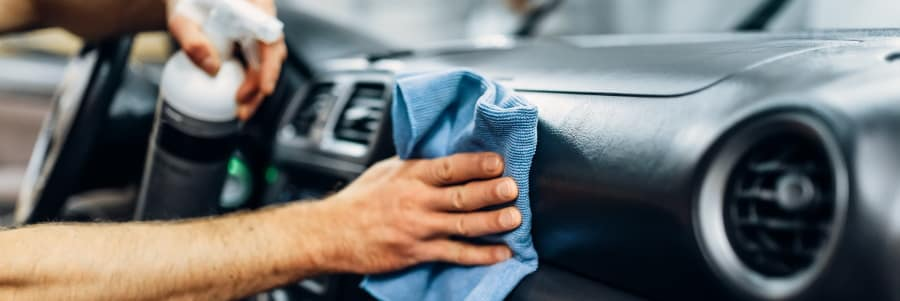 cleaning interior of vehicle tips