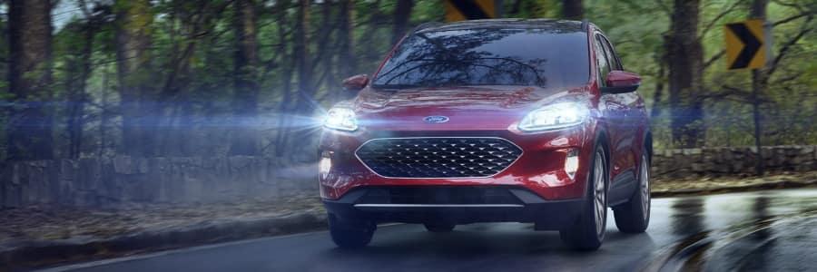Ford Escape Driving in Winter
