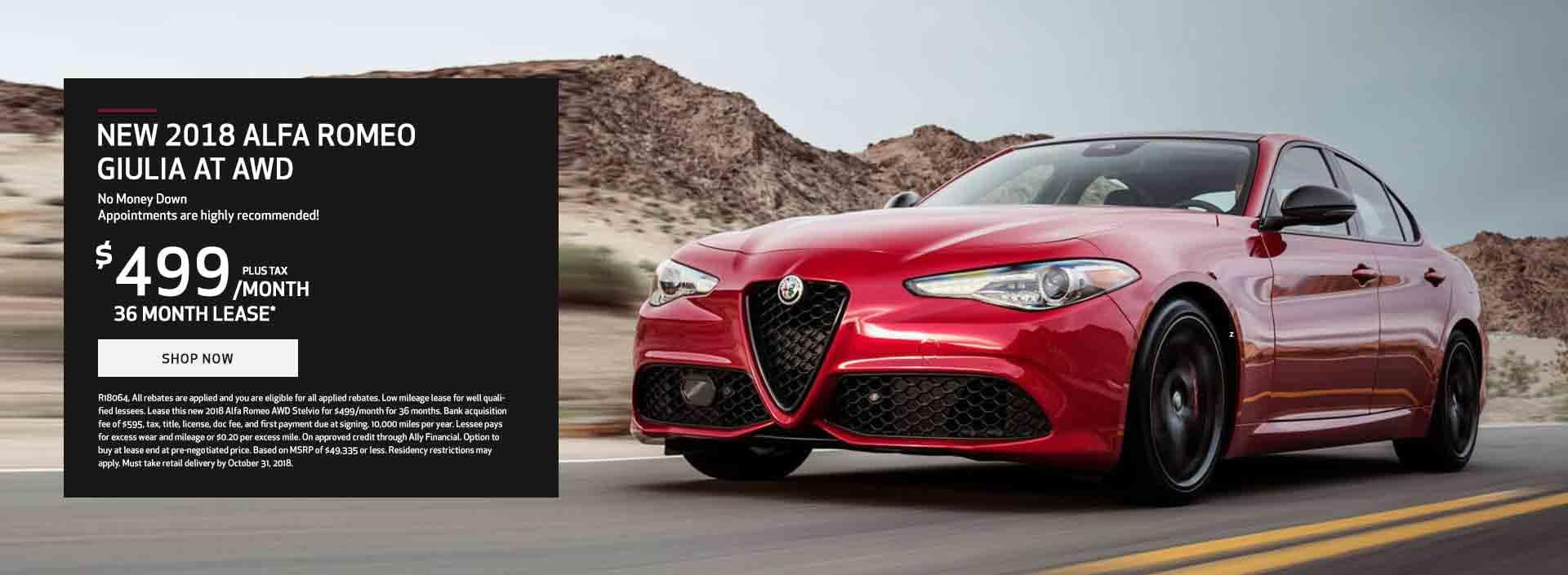 Giulia October Lease